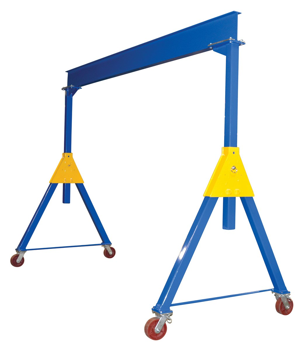 Adjustable Steel Gantry Cranes - Knockdown - Product Page