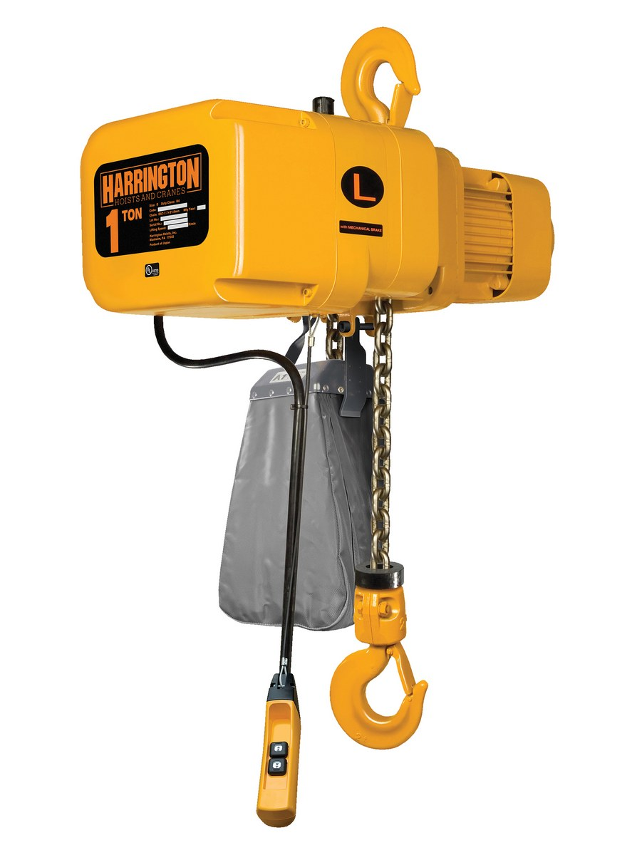 Electric Chain Hoists Product Page