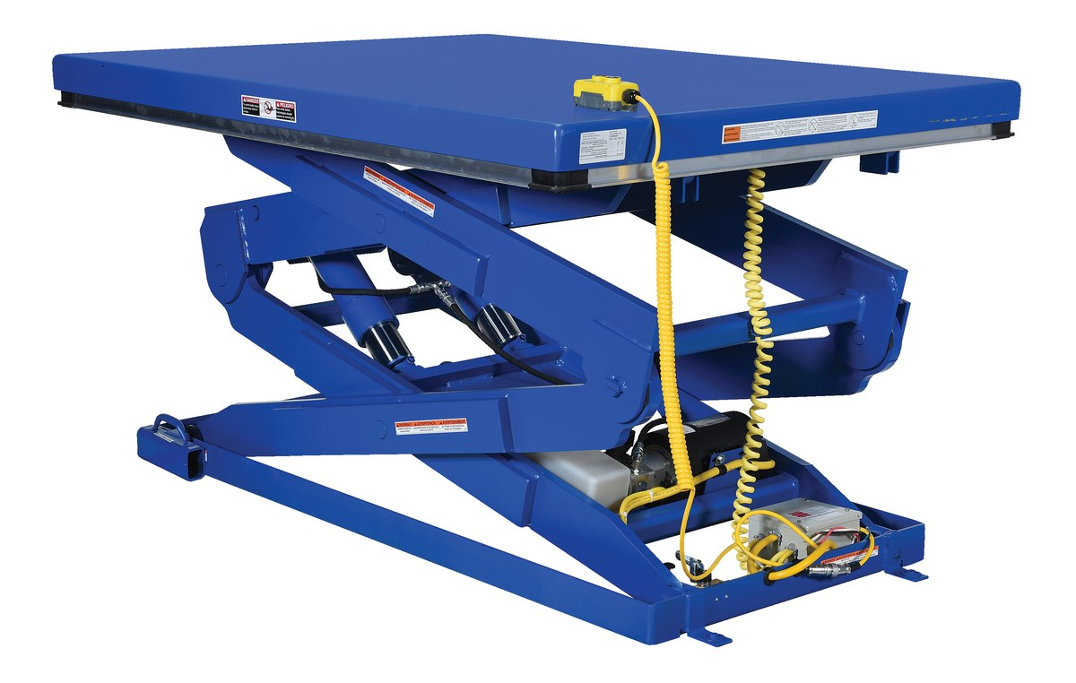 Double Scissor Lift Tables - Product Page