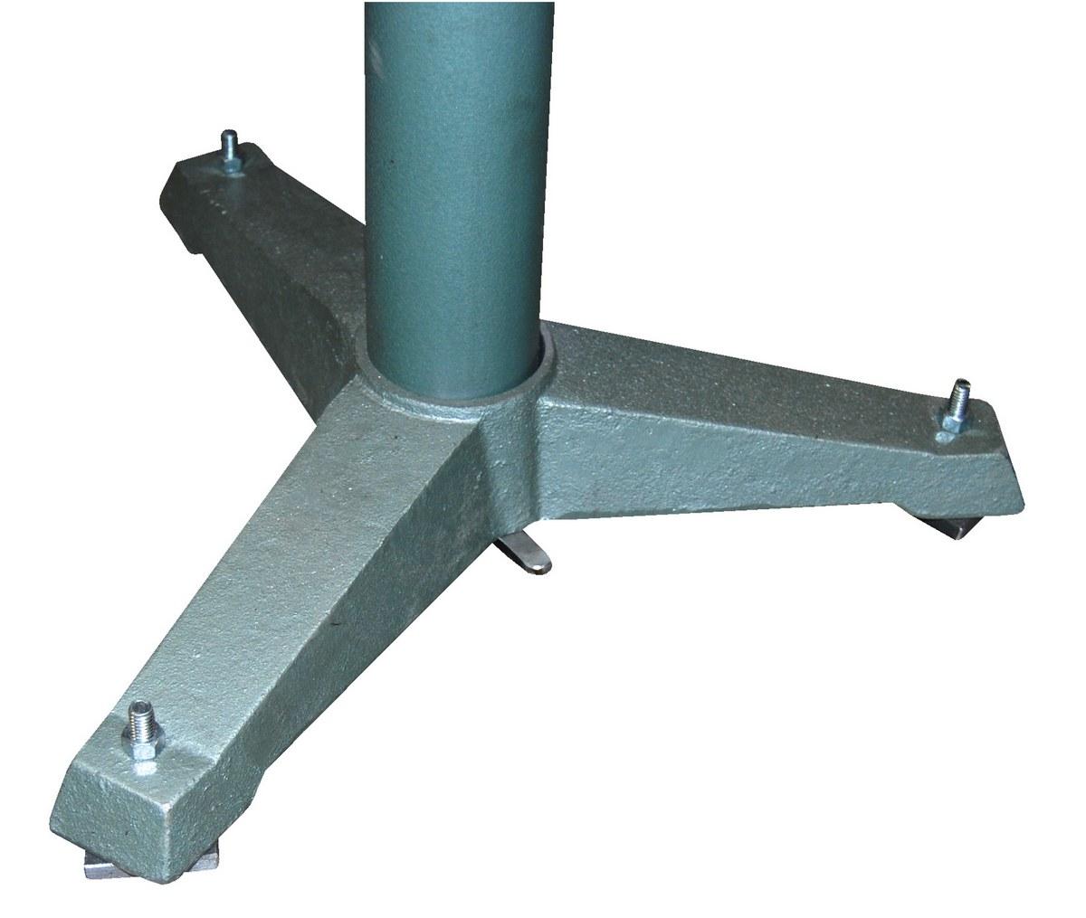 Vestil STAND-V-HP 5 V Deluxe Roller Stand 27-42 Height 1760 lbs Capacity