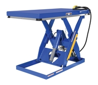 Rotary Air/Hydraulic Scissor Lift Tables