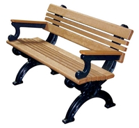 Park Benches - Recycled Plastic