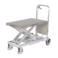 Partially Stainless Steel Hydraulic Elevating Carts