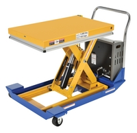 DC Powered and Manual Scissor Carts