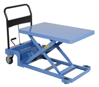 Low Profile Scissor Lift Cart