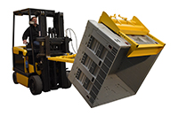 Truck Powered Crate Turner/Dumper
