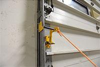 Automatic Overhead Door Lock