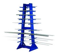 Double Sided Horizontal Bar Rack
