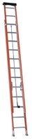 Fiberglass Extension Ladders with Aluminum Rungs