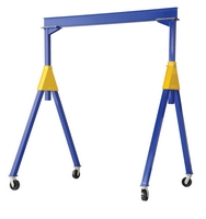 Fixed Height Steel Gantry Cranes - Knockdown