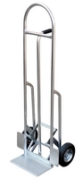 High Back Aluminum Hand Truck with Push Out