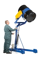 Portable Hydraulic Drum Carrier/Rotator/Booms