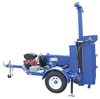 Mobile Gasoline Powered Drum Crusher