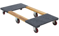 Six-Wheel Wooden Mover Dollies