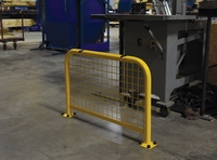 High Profile Machinery Guards with Welded Mesh