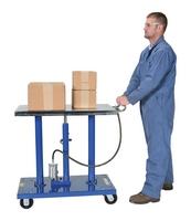 Air Hydraulic Post Tables