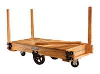 Tilting Wood Platform Trucks