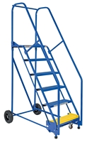 Rolling Warehouse Ladders (6-11 Step)
