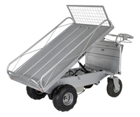 Off-Road Traction Drive Powered Carts