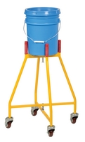 Ergonomic Elevated Bucket & Pail Dolly