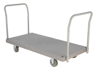 Heavy-Duty Plastic Platform Trucks