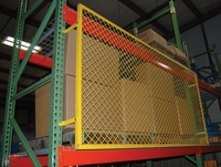 Pallet Rack Back Guards