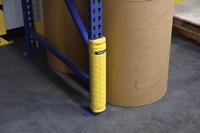 High Impact Plastic Upright Rack Guard