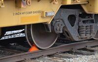 Magnetic Rail Car Wheel Chock
