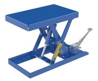 Foot Pump & Powered Scissor Lift Tables