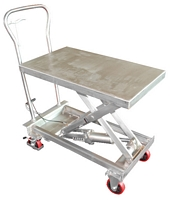 Stainless Steel Scissor Carts