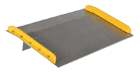 Aluminum Truck Dockboards with Steel Safety Curbs