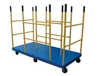 Platform Carts with Versatile Dividers