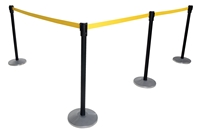 Indoor Personnel Guidance Barriers
