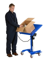 Linear Actuated Mobile Tilting Work Table
