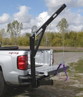 Hitch-Mounted Truck Jib Crane