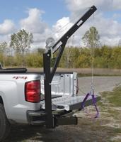Hitch-Mounted Truck Jib Crane