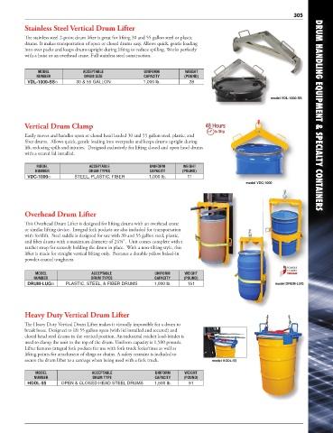 Page 299 - Vestil Catalog 112