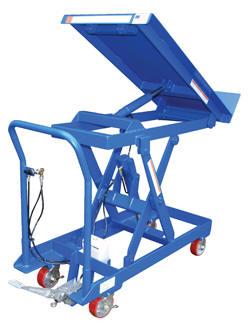 Vestil Lift Amp Tilt Carts With Sequence Select
