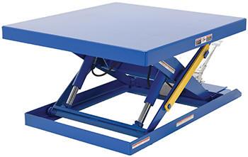 Vestil Foot Pump Scisscor Lift Tables
