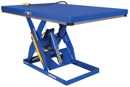 Vestil Rotary Air Hydraulic Scissor Lift Tables