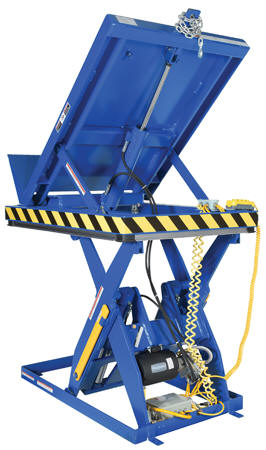 Vestil Electric Hydraulic Lift Amp Tilt Table