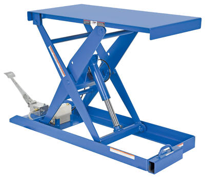 Vestil Foot Pump Scisscor Lift Tables