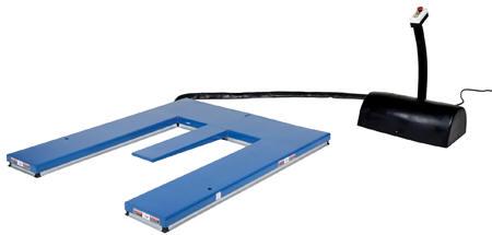 Vestil Low Profile Quot U Quot Type Electric Lift Tables