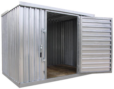 Vestil shelters storage buildings for Garden shed builders warehouse