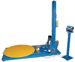 automatic stretch wrap machine with scale