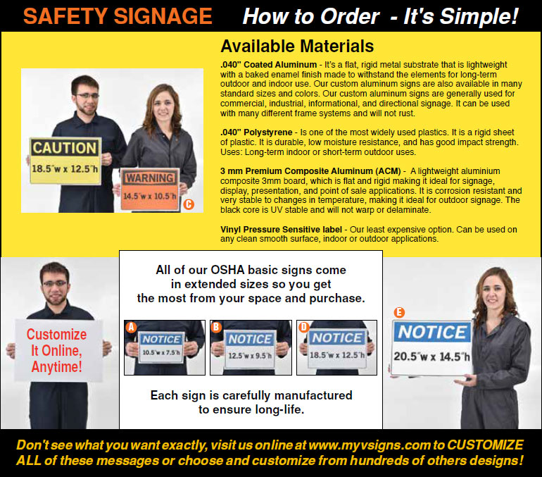 How To Order Signs